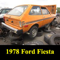 Junkyard 1978 Ford Fiesta