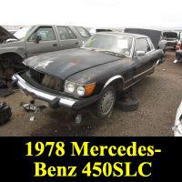 Junkyard 1978 Mercedes-Benz 450SLC