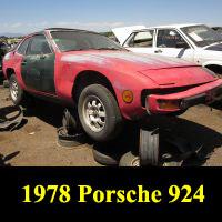Junkyard 1978 Porsche 924