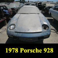 Junkyard 1978 Porsche 928