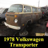 Junkyard 1978 Volkswagen Bus