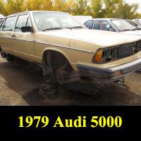 Junkyard 1979 Audi 5000