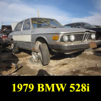 Junkyard 1979 BMW 528i