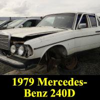 Junkyard 1979 Mercedes-Benz 240D