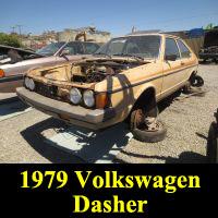 Junkyard 1979 Volkswagen Dasher Diesel