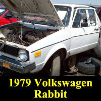 Junkyard 1979 Volkswagen Rabbit