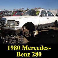 Junkyard 1980 Mercedes-Benz 280SEL