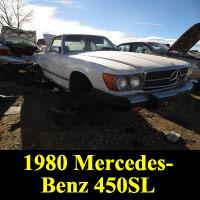 Junkyard 1980 Mercedes-Benz 450SL