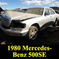 Junkyard 1980 Mercedes-Benz 500SE