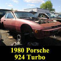 Junkyard 1980 Porsche 924 Turbo