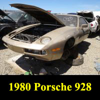 Junkyard 1980 Porsche 928