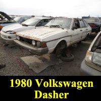 Junkyard 1980 Volkswagen Dasher