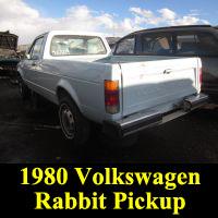 Junkyard 1980 Volkswagen Caddy