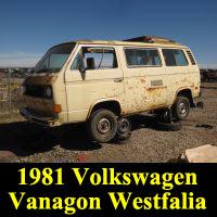 Junkyard 1980 Volkswagen Vanagon Westfalia