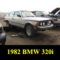 Junkyard 1983 BMW 320i