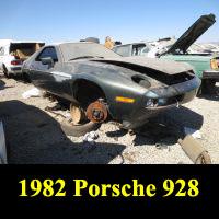 Junkyard 1982 Porsche 928