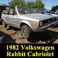 Junkyard 1982 Volkswagen Rabbit