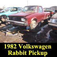 Junkyard 1982 Volkswagen Rabbit Pickup