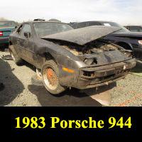Junkyard 1983 Porsche 944