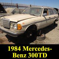 Junkyard 1984 Mercedes-Benz 300TD