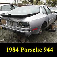 Junkyard 1984 Porsche 944