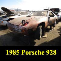 Junkyard 1985 Porsche 928