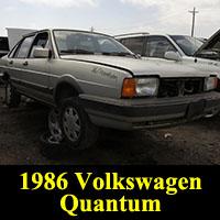 Junkyard 1986 Volkswagen Quantum
