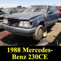 Junkyard 1988 Mercedes-Benz 230CE