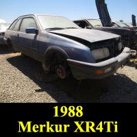Junkyard 1988 Merkur XR4Ti