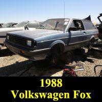 Junkyard 1988 Volkswagen Fox