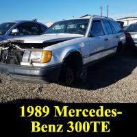 Junkyard 1989 Mercedes-Benz 300 TE