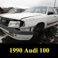 Junkyard 1990 Audi 100