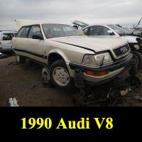 Junkyard 1990 Audi V8