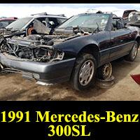 Junkyard 1991 Mercedes-Benz 300 SL