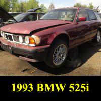 Junkyard 1993 BMW 525i Touring