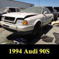 Junkyard 1994 Audi 90 S
