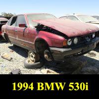 Junkyard 1994 BMW 530i
