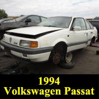 Junkyard 1994 Volkswagen Passat GLX