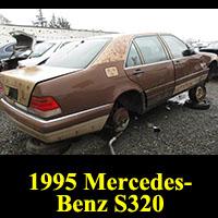 Junkyard 1995 Mercedes-Benz S 320