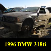 Junkyard 1996 BMW 318Ti