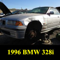 Junkyard 1996 BMW 328i