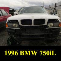 Junkyard 1996 BMW 750iL
