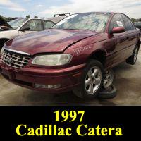 Junkyard 1997 Cadillac Catera