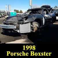 Junkyard 1997 Porsche Boxster