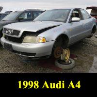 Junkyard 1998 Audi A4 1.8T
