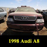 Junkyard 1998 Audi A8