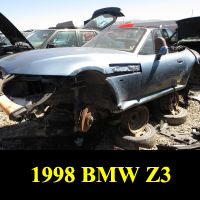 Junkyard 1998 BMW Z3