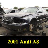 Junkyard 2001 Audi A8