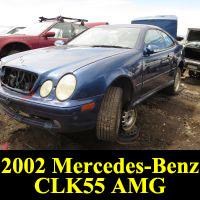 Junkyard 2002 Mercedes-Benz CLK55 AMG