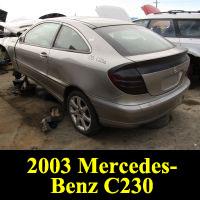 Junkyard 2003 Mercedes-Benz C230